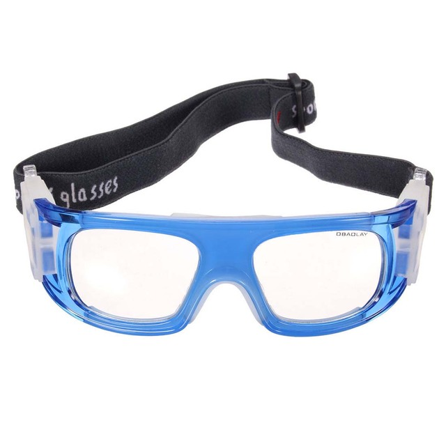 1a304fd53380 OBAOLAY Basketball Cycling Football Sports Protective Eyewear Goggles Eye  Safety Glasses blue