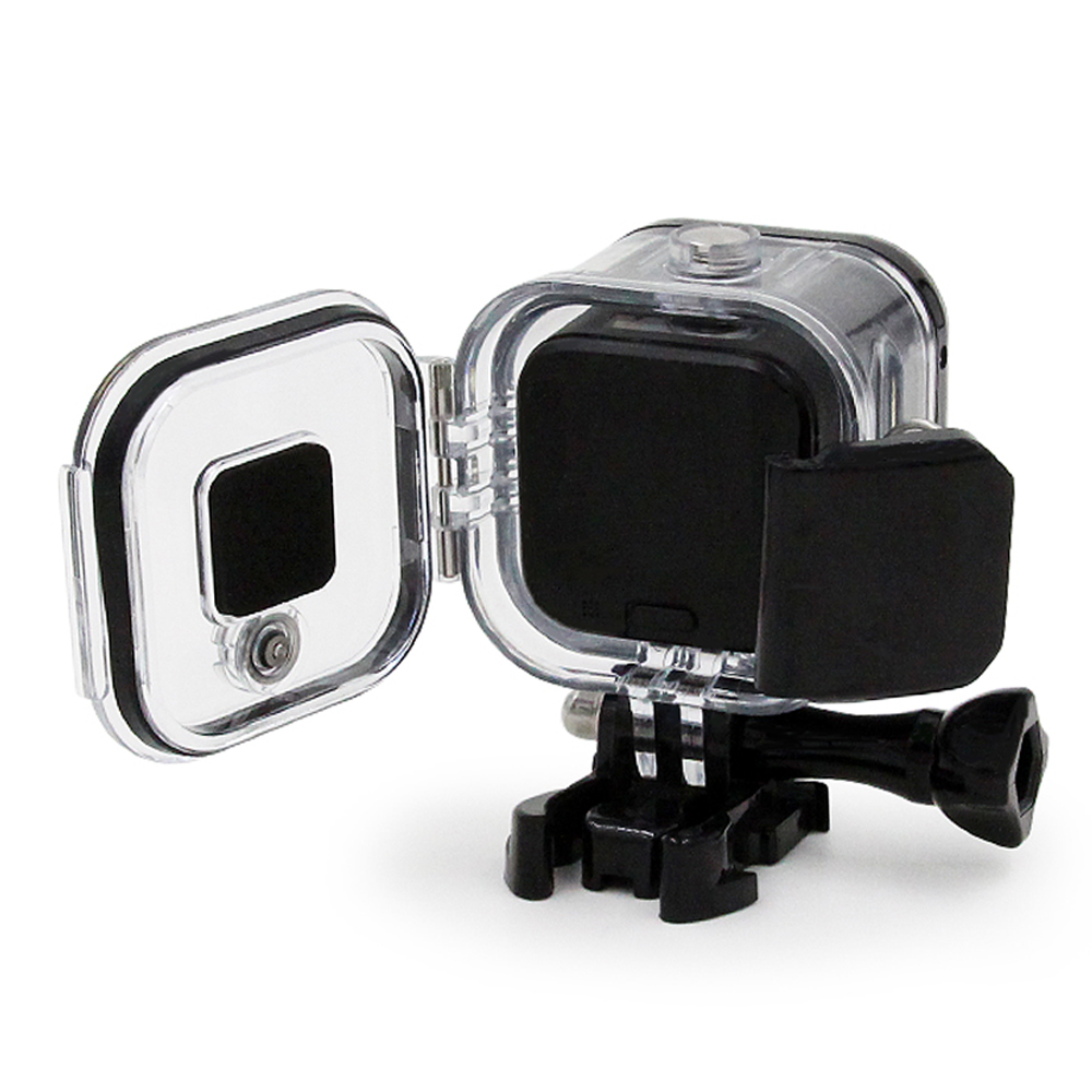 TELESIN Waterproof Case Underwater 60M Protective Housing Cover Shell for GoPro Hero 5 / 4 Session Hero Session Case Accesseries