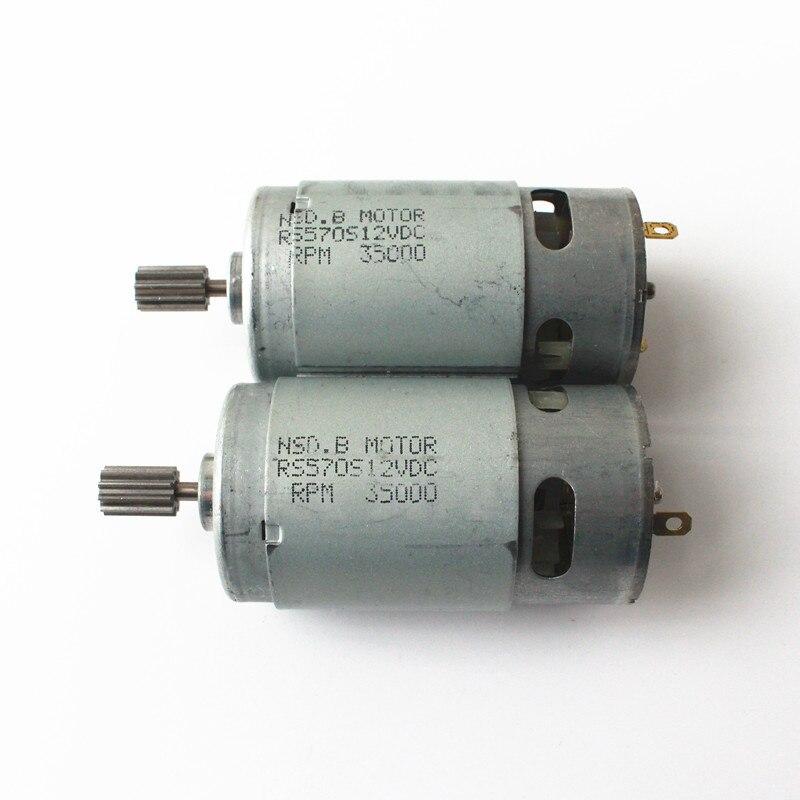 2PC Micro Power Motor RF-300CA Solar DC 3V 5V 6V 3000RPM Toy Car Fan Casual