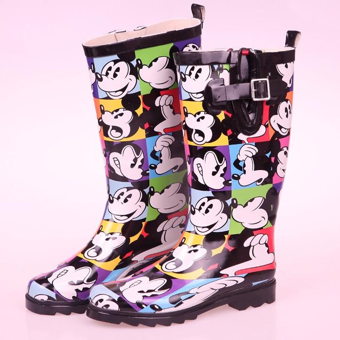 Fashion Wellies Rain Boots Womens