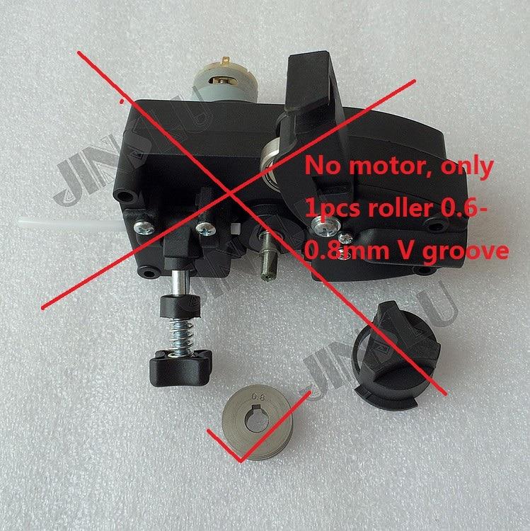 1 sztuk rolki 0.6 0.8mm do lekkich Mig spawacz podajnik drutu silnik MIG-195 Mig spawacz