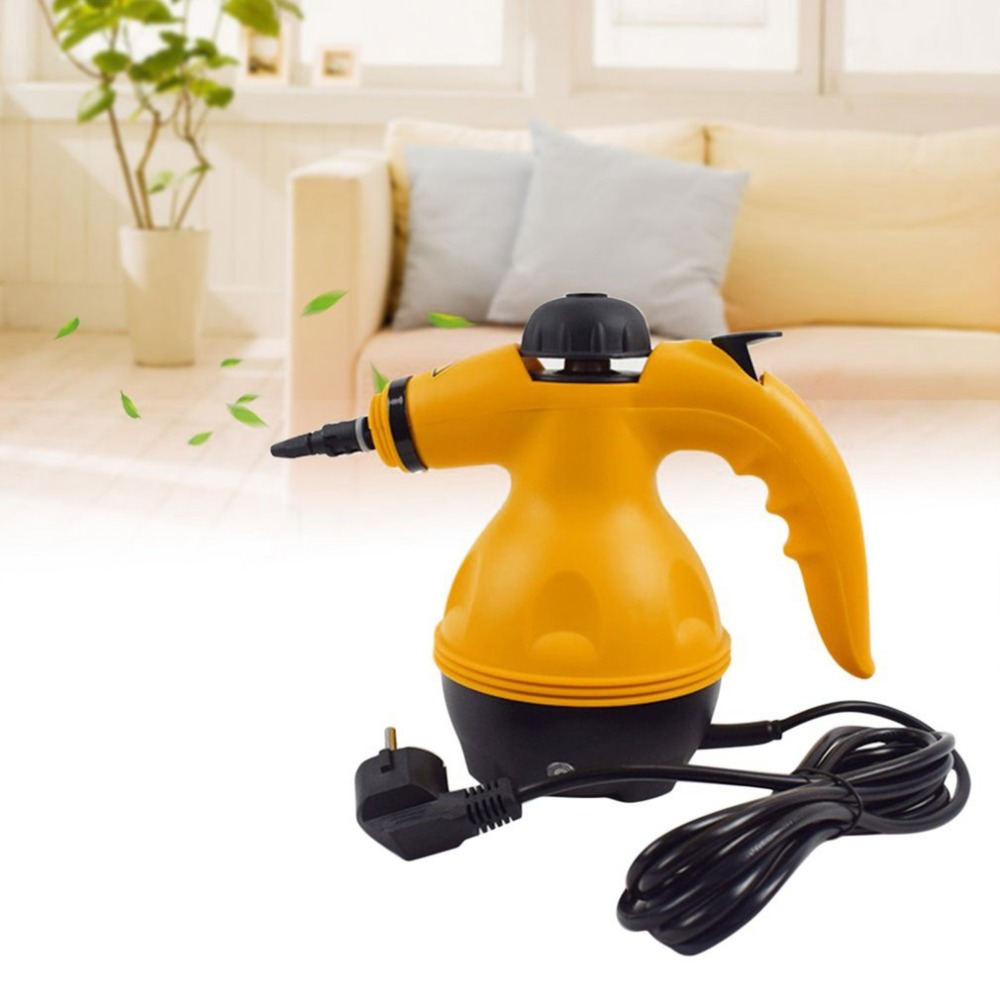 Multi Purpose Electric Steam Cleaner Portable Handheld Steamer Household Cleaner Attachments Kitchen Brush Tool Dropshipping