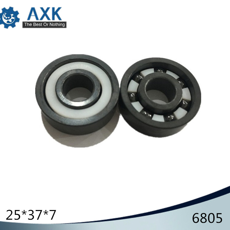 6805 Ceramic Bearing 1 PC 25 37 7 mm Si3N4 Material 6805 CE Full Ceramic Silicon