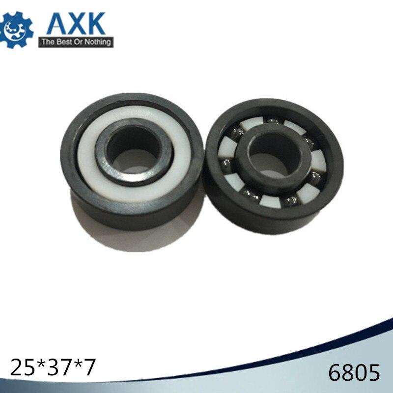 6805 Ceramic Bearing ( 1 PC ) 25*37*7 mm Si3N4 Material 6805 CE Full Ceramic Silicon Nitride 61805 Ball Bearings6805 Ceramic Bearing ( 1 PC ) 25*37*7 mm Si3N4 Material 6805 CE Full Ceramic Silicon Nitride 61805 Ball Bearings