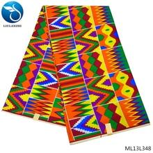 LIULANZHI DIY Textile Sewing African Wax Prints Fabric Ankara fabric 2019 wax prints 6 yards/lot colorful ML13L348-356