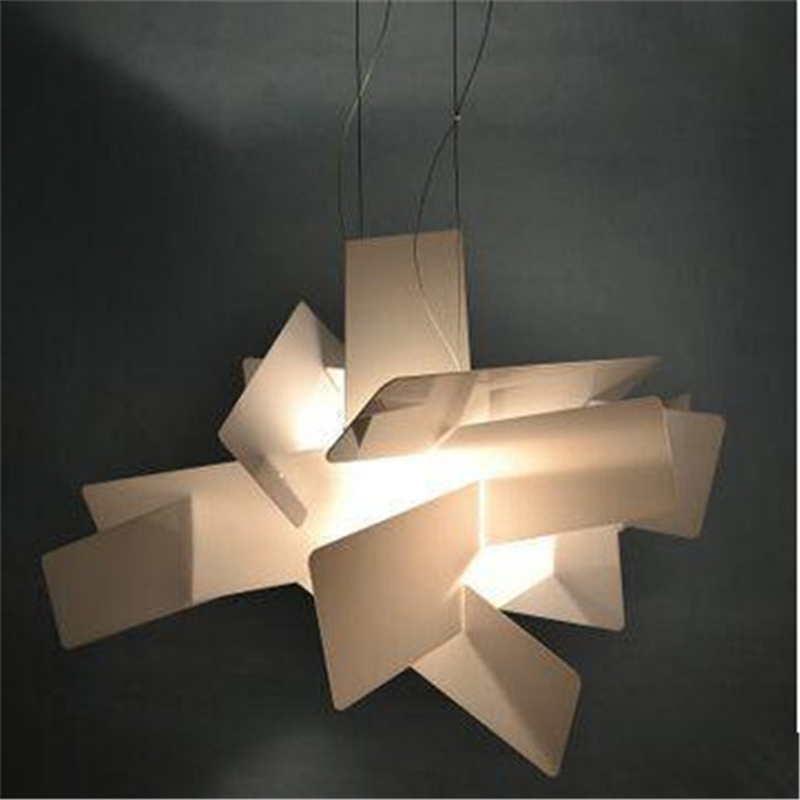 Redwhite dia6592cm classic explosion paper folding art acrylic redwhite dia6592cm classic explosion paper folding art acrylic pendant lamp pendant light modern home lighting e27r7s pll 47 in pendant lights from mozeypictures Images