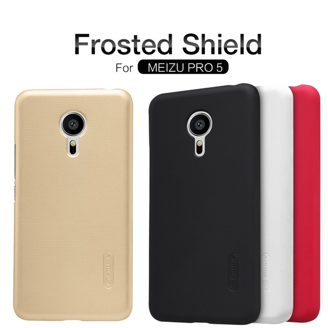 Meizu Pro 5 case NILLKIN Super Frosted Shield back cover case for Meizu Pro 5 with free screen protector and Retail package