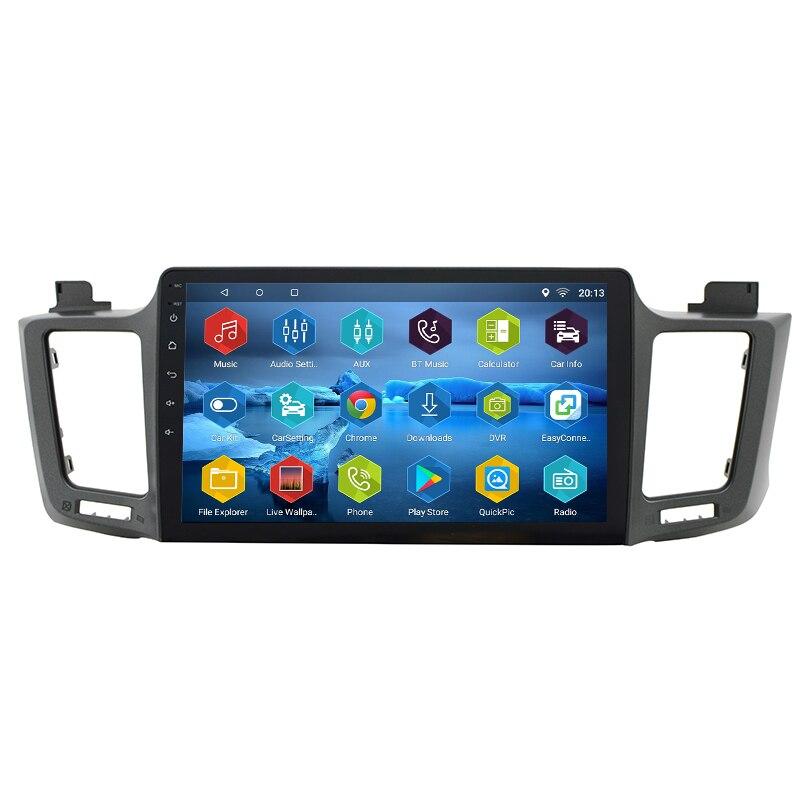 2 Din Android 7.0.0 автомобильный навигатор для Toyota RAV4 2013 2014 2015 2016 RAV 4 автомагнитолы gps видео с Canbus
