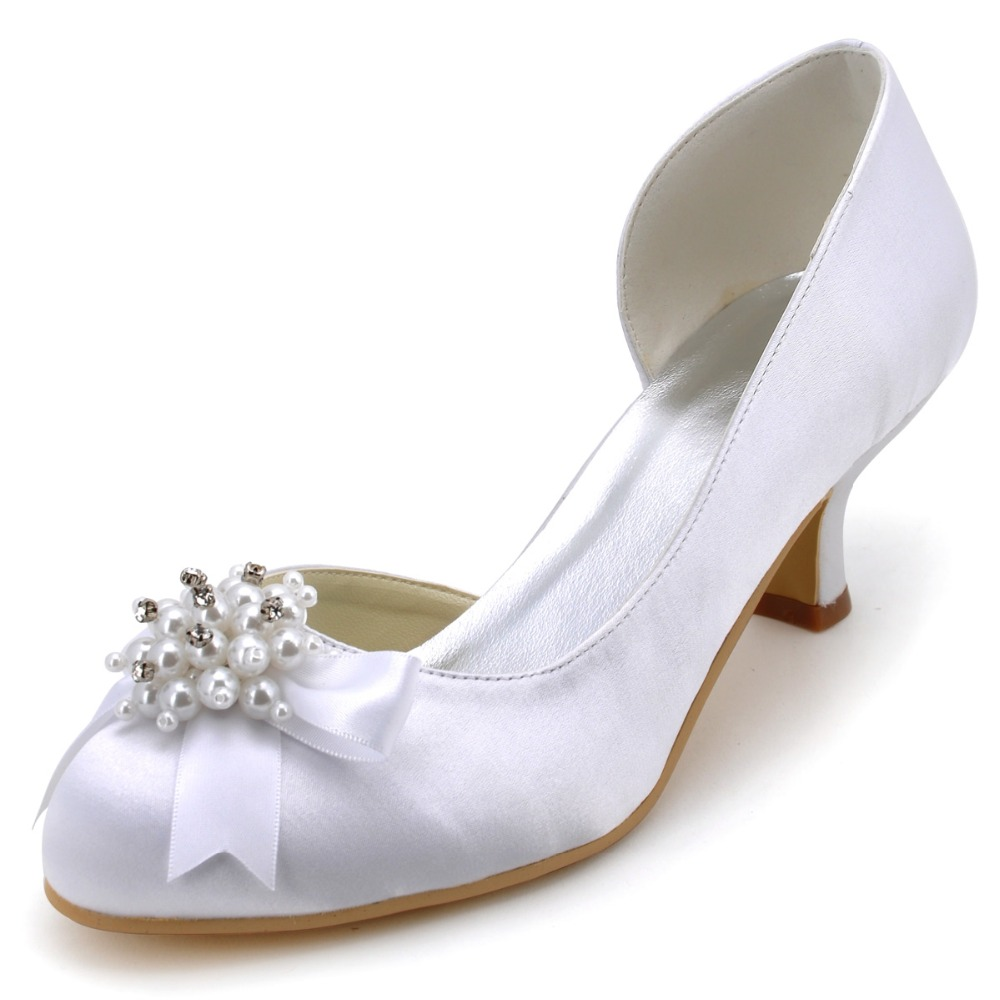 low heel wedding shoes with rhinestones elegantpark 100114 women white prom pumps low heel 5618