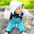 Hot Christmas Toddler Kids Baby Boy Girl Deer Hooded Tops Pants Outfits Set Clothes