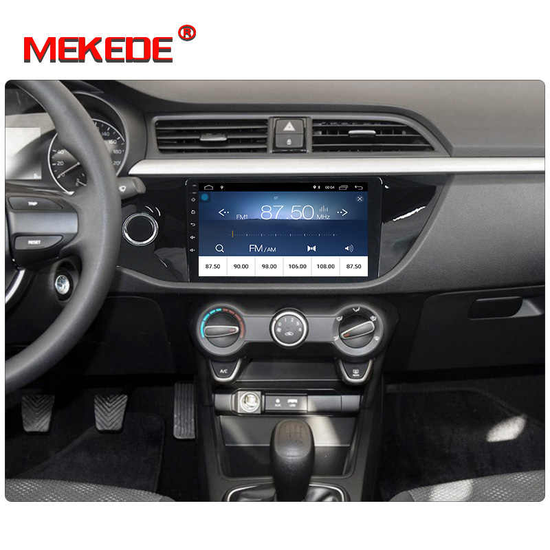 Ultra cheap!Mekede android8.1 Car dvd player with car audio Car Stereo Player for KIA RIO K2 2017 KIA K2 wifi BT Russian menu