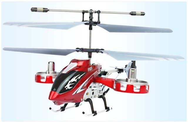 Wholesale - The king of side fly 4 Channels RC Helicopter good gifts for Children Radio Control Helicopter Free shipping