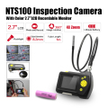 "Eyoyo Dia 8.2mm 1 Meters 2.7"" LCD NTS100 Endoscope Borescope Snake Inspection Tube Camera DVR"
