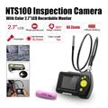 """Eyoyo Dia 8.2mm 1 Metros 2.7 """"LCD NTS100 Endoscopio Del Animascopio de La Serpiente Inspección de Tubos Cámara DVR"""