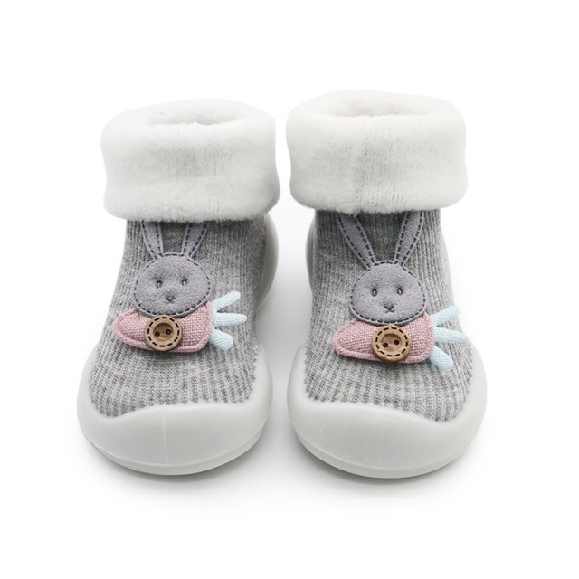 Rabbit Sock Shoes for Baby