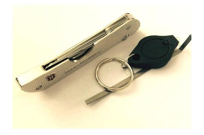 7 in 1 Practice Lock Folding Multi-tool lock Pick Set Jack Knife Locksmith tool..,we also sell lishi tool hu66 hu92 hu100 hu101