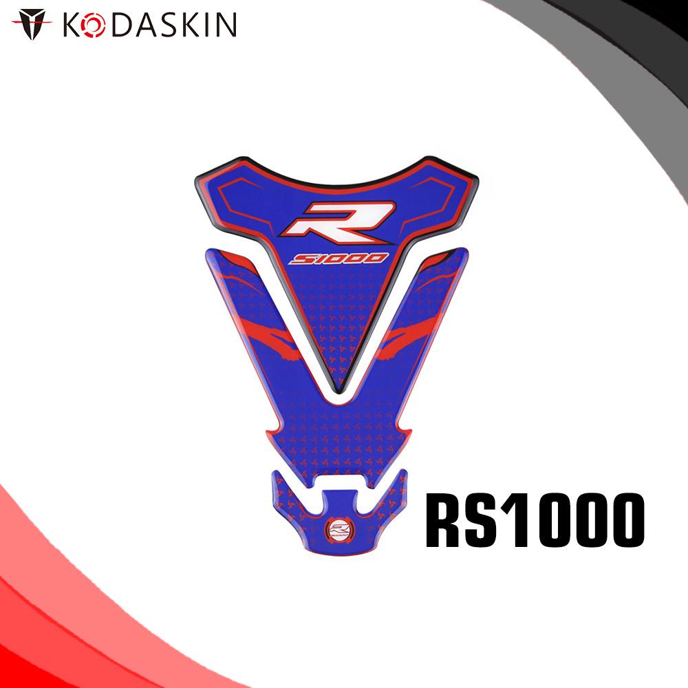 KODASKIN Moto 3D Protection Tank Pad Decal Protector Sticker Emblem For RS1000