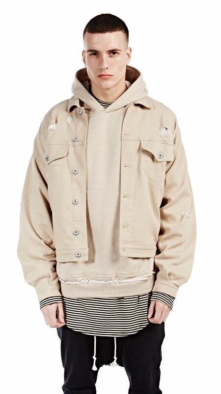 Popular Beige Denim Jacket-Buy Cheap Beige Denim Jacket lots from ...