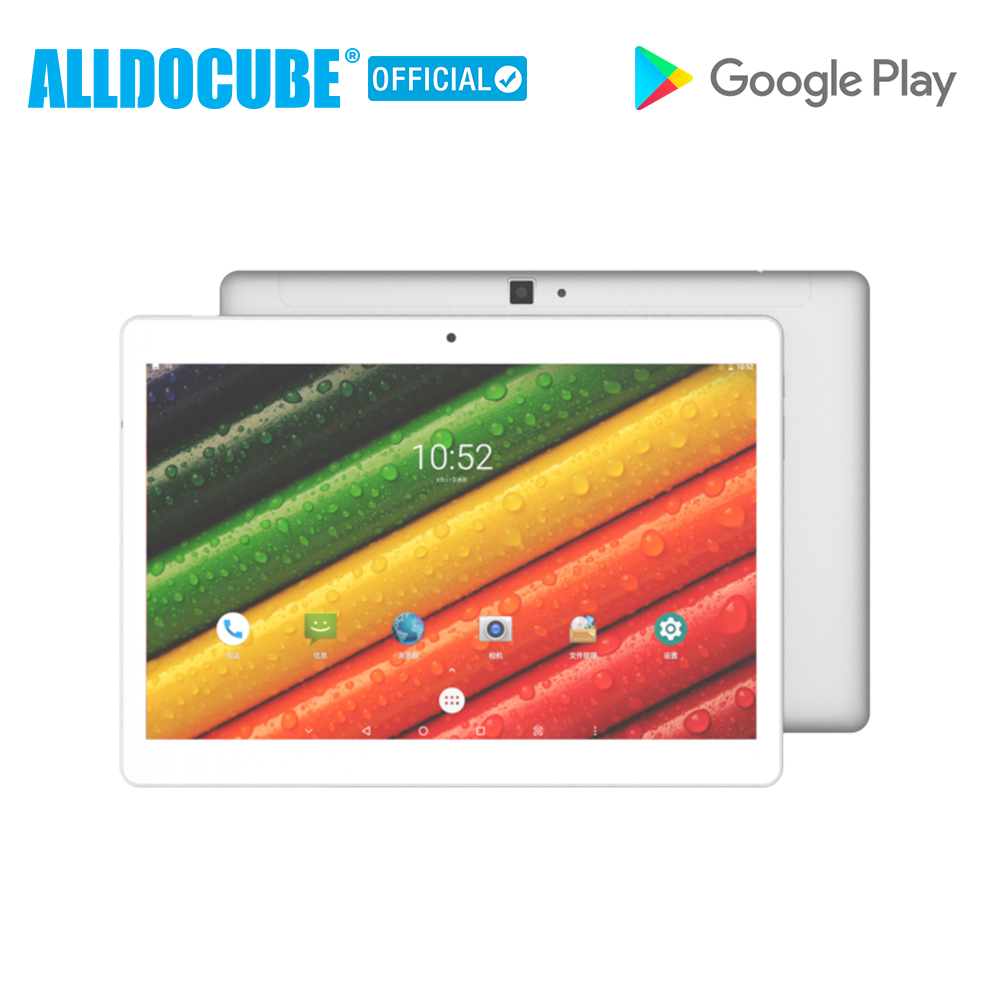 ALLDOCUBE M5 Android 8.0G LTE Tablet PC MT6797 4 X20 Deca Núcleo 4 GB de RAM GB ROM 10 64 polegada 2560*1600 GPS Phone Call Tablets