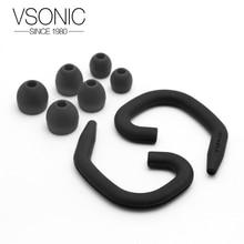 VSONIC Original silicone case and earhook for VSD1S/VSD3S/GR07 Earphones