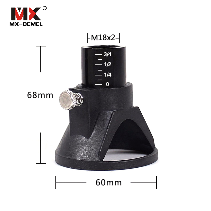 MX-DEMEL Drill Dedicated Locator,Dremel Accessories,Grindering & Polishing Located Horn for Dremel Drill Rotary Accessories mx demel high quality 17pcs 1 2 felt polishing wheels dremel accessories fits for dremel rotary tools dremel tools small