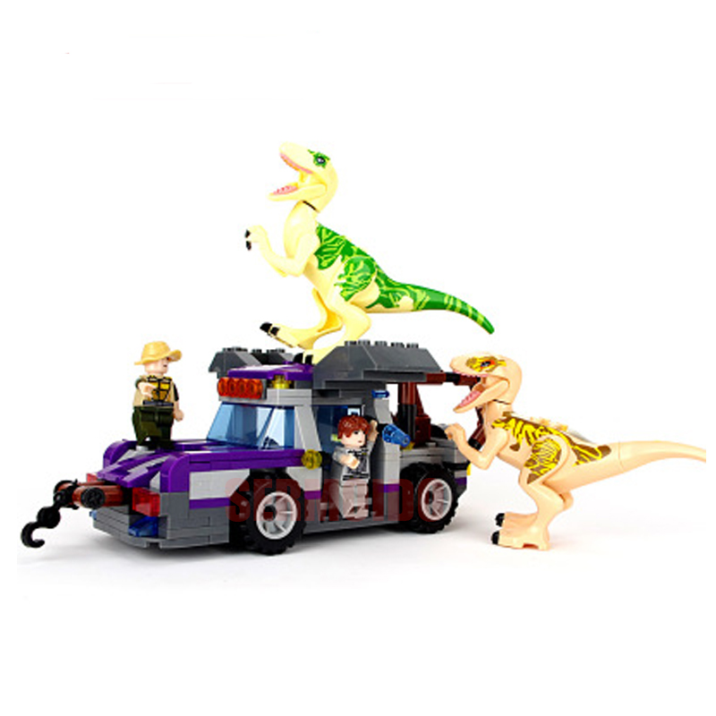 Marvel Super Hero Jurassic World Dinosaurs Figures Building Blocks Classic Compatible with Legoings Kids Toys For Children