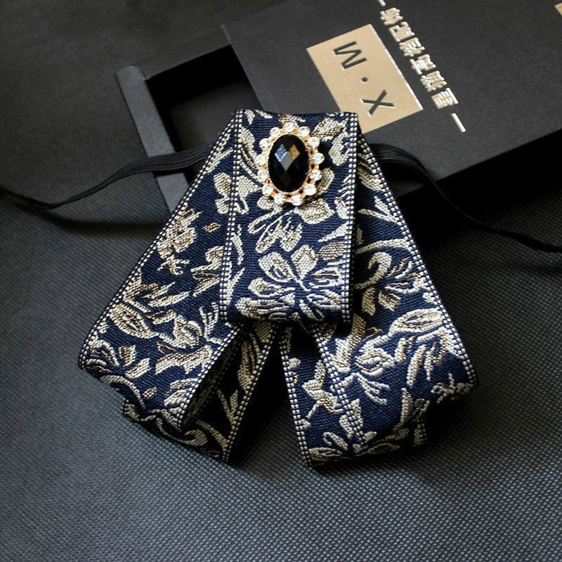 New Fashion Diamond Elegant Gentleman Bow Ties Butterfly Wedding Party Bow Ties Butterfly Gravata Gorgeous Tie For Man Gifts