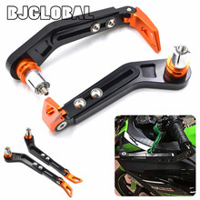 BJGLOBAL Orange Universal 7/8 22mm CNC Handlebar Protect Brake Clutch Protect Motorcycle Lever Guard Proguard For KTM Duke 390