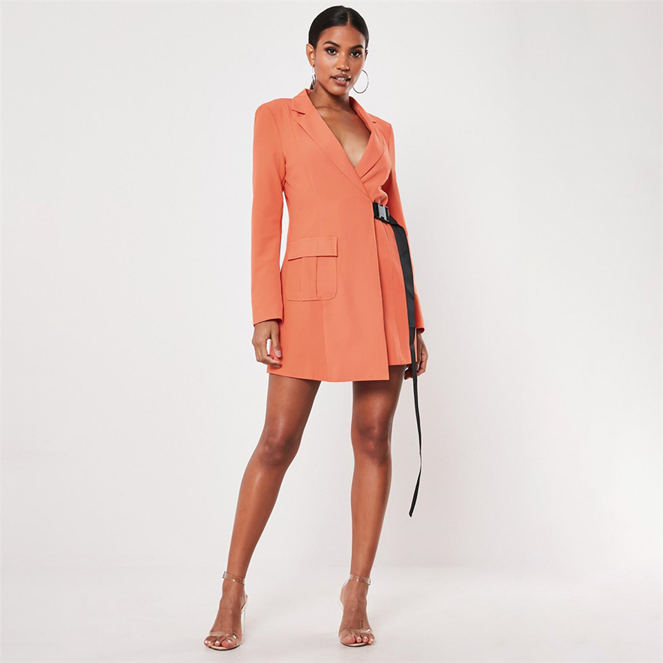 orange-seatbelt-buckle-blazer-mini-dress (1)