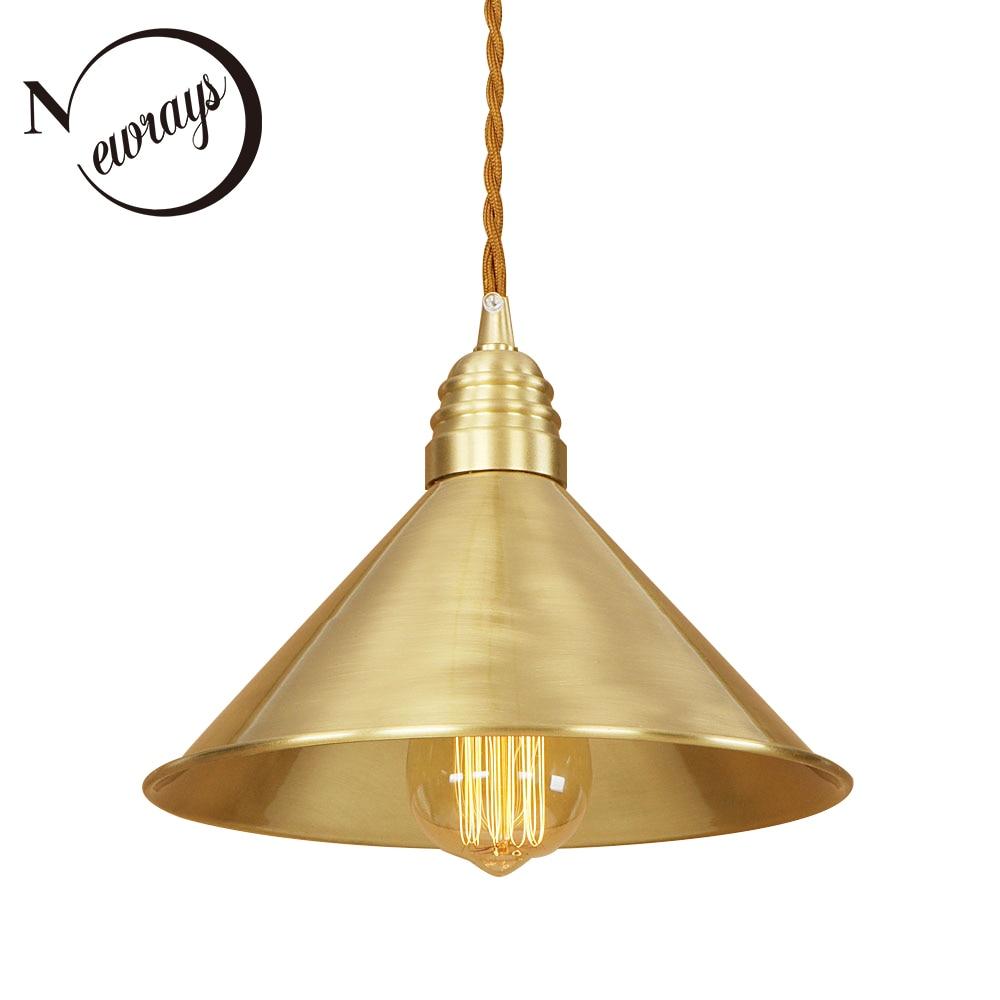 Здесь продается  Modern iron painted brass personality pendant lamp 220V E27 LED indoor hanging light fixture restaurant bedroom living room path  Свет и освещение