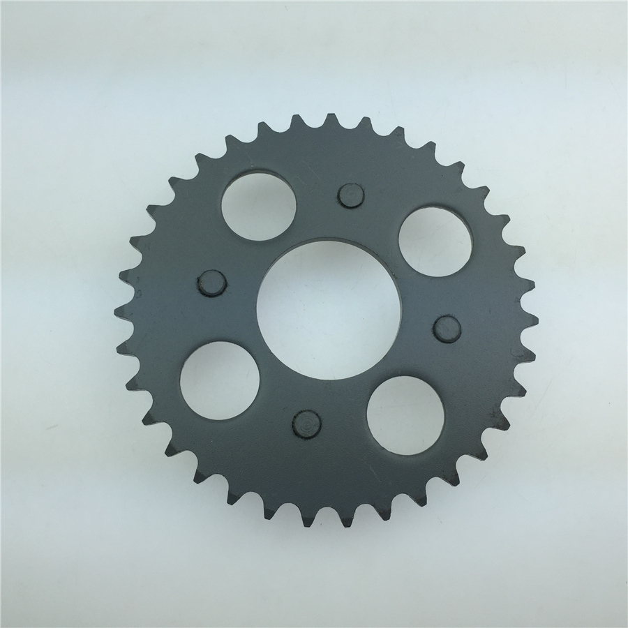 STARPAD For Jincheng 70 DAX giraffe modified motorcycle 420 dental plate 35 tooth freewheel sprocket chain plate 420 35T