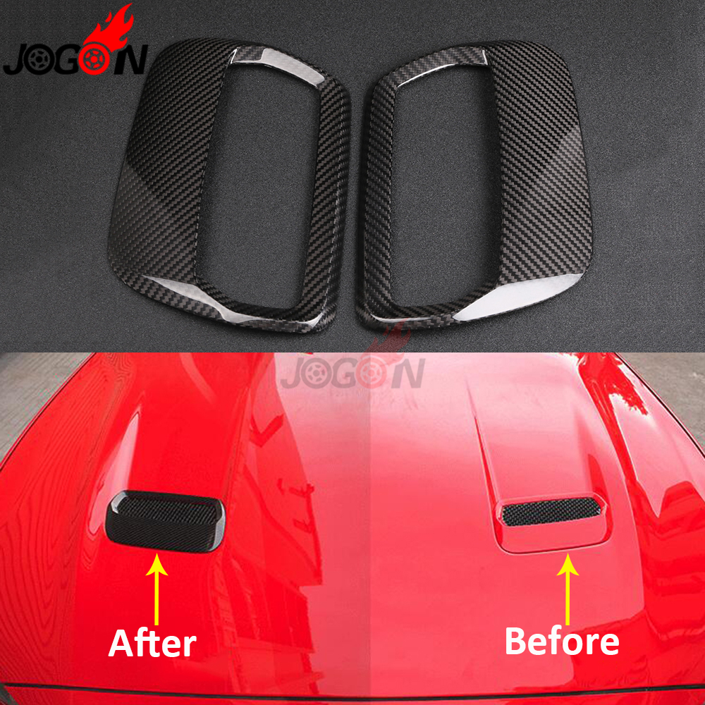 Carbon Fiber For Ford Mustang Ecoboost GT350 GT Coupe 2018 2019 Car Styling Engine Hood Air