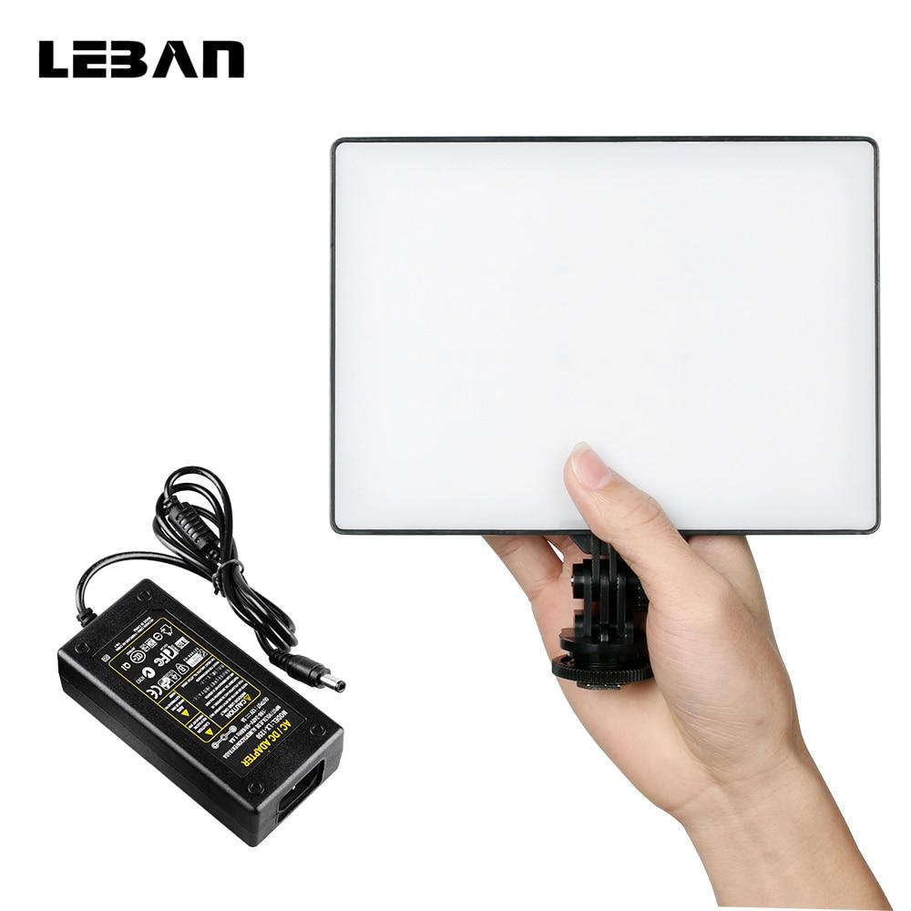 bilder für Yongnuo yn300 air ultra thin auf kamera led-videoleuchte Pad Panel 3200 Karat-5500 Karat Camcorder mit AC Power Adapter für Video schießen