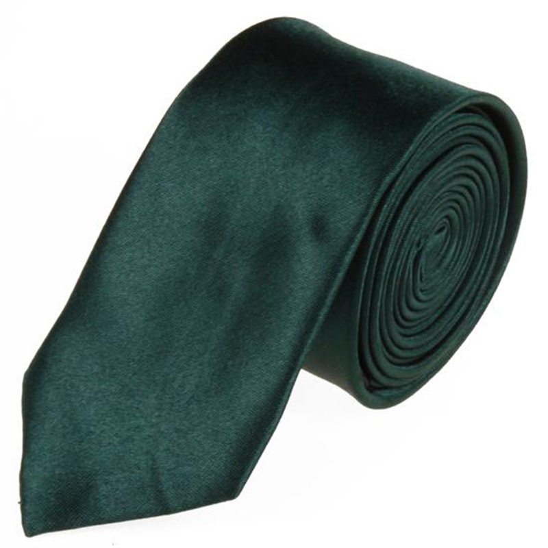 Wholesale Dark Green Color Formal Men's Tie Silk Tie For Banquet Wedding Business Tie Mens Accessories Necktie Free Ship