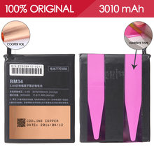 Allparts 100% Tested BM34 3010mAh Li-ion Polymer Mobile Phone Battery For XIAOMI Mi Note Pro Battery Replacement Parts