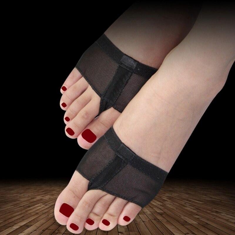 Belly Ballet Dance Toe Pad Practice Shoe Foot Thong Care Half Sole Gym Sock Dancing