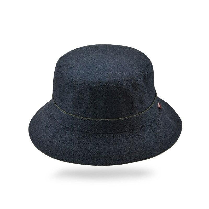 Solid Color Fisherman Hats Men Women Bucket Caps Summer Outdoor Sun