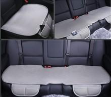 3pcs/SET car seat cushion viscose four seasons general business Seat cushion  warm  automobile seat cover