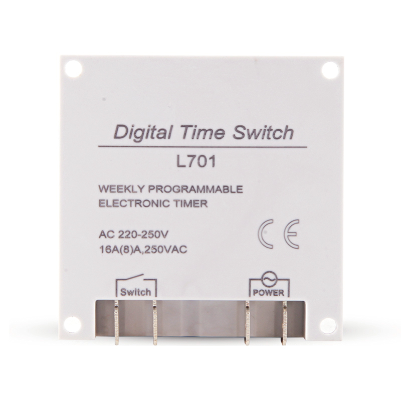 Interruptores e Relés ac lcd digital power timer Features d : 16 Groups of Programs Can be Conjunto