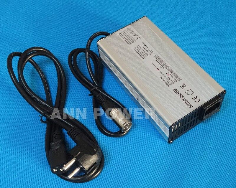 48 V 4A li-ion chargeur de batterie 54.6 V 4A chargeur de lithium pour 13 S 48 V 10Ah 12Ah 15Ah 20Ah 30Ah Lipo/LiMn2O4/LiCoO2 batterie