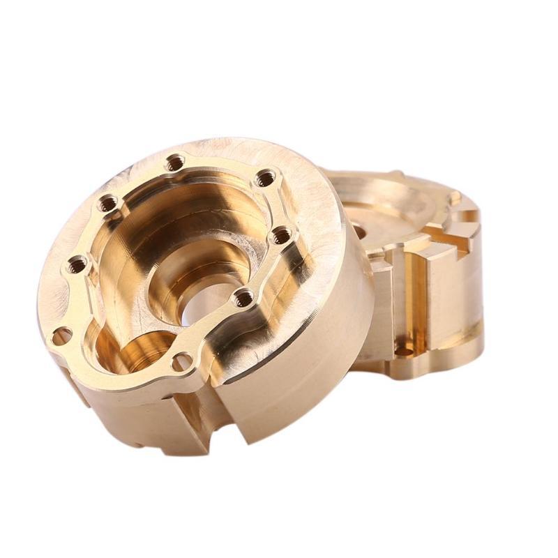 210g/2pcs TRX4 Axle Doors Brass Counterweight Balance Weight Portal Drive Housing for 1:10 RC Crawler Traxxas TRX-4 бур dewalt dt9607 qz