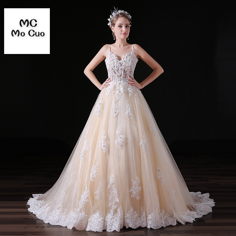 Vestido De Noiva 2017 New Elegant Lace Applique Tulle: 2017 New Arrival Blush Pink Wedding Dresses Sweetheart