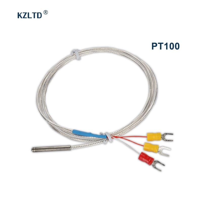 K Type 0-400 C Thermocouple Sonde Capteur Plug Câble 1 m pour thermomètre
