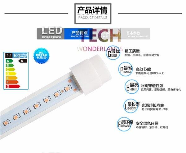Высокий класс аквариум светодиодные лампы аквариум Light Tube 60 см синий и белый Ультра яркое освещение Бесплатная доставка