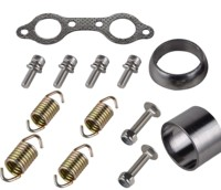 ATV Exhaust Gasket and Spring Rebuild Kit For Polaris RZR 800 EFI EPS 2011 2014