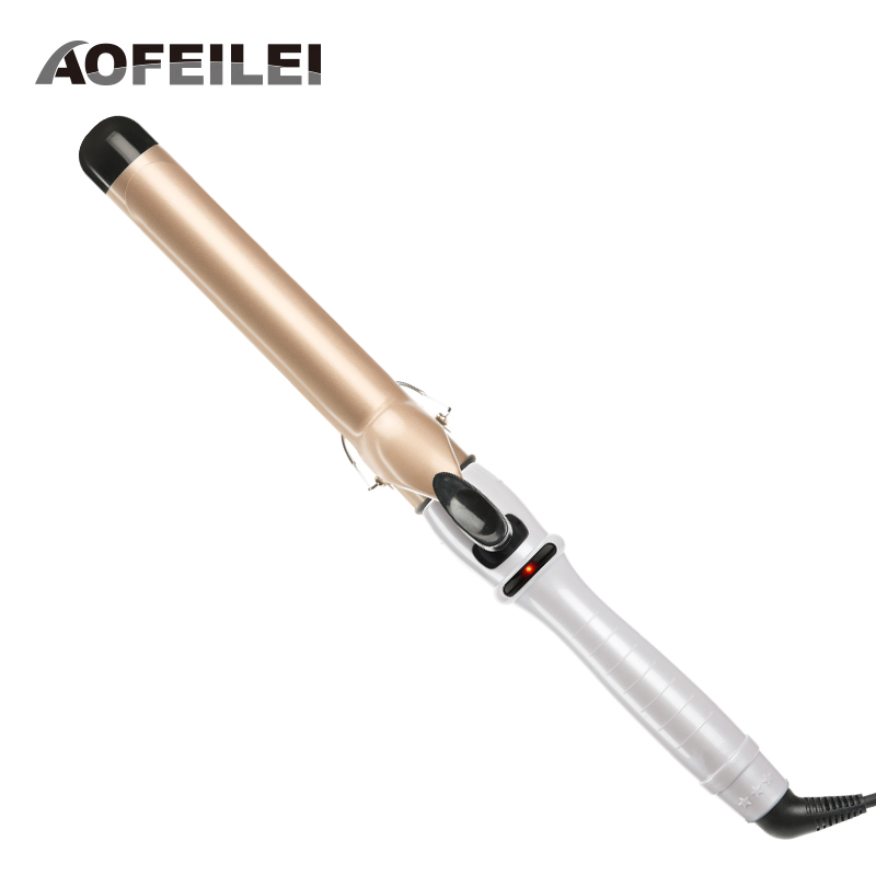 Ceramic Styling Tools professional  Hair Curling Iron Hair waver Pear Flower Cone Hair Curler Roller Aofeilei Curling Wand kemei ceramic styling tools professional hair curling iron adjustable temperature hair waver electric hair curler roller curling