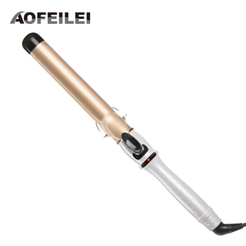 Ceramic Styling Tools professional  Hair Curling Iron Hair waver Pear Flower Cone Hair Curler Roller Aofeilei Curling Wand ikv new arrival ceramic styling tools new arrival hair curling iron digital hair curler roller hair waver curling wand irons