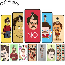 Ron Swanson Soft Phone Cover Case for Redmi 5 6 A 6 Pro S2 7 GO Note 5 6 7 Pro 4 4X 5A Prime(China)