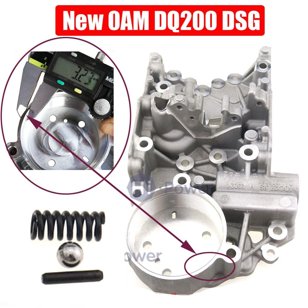 DSG DQ200 0AM 0AM325066AC 0AM325066C 0AM325066AE 0AM325066R Valvebody Accumulate Housing For Audi Skoda 7speed Kit 111