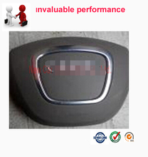Car styling Free shipping Airbag Cover For A4  Driver steering wheel SRS Air bag Cover With Logo